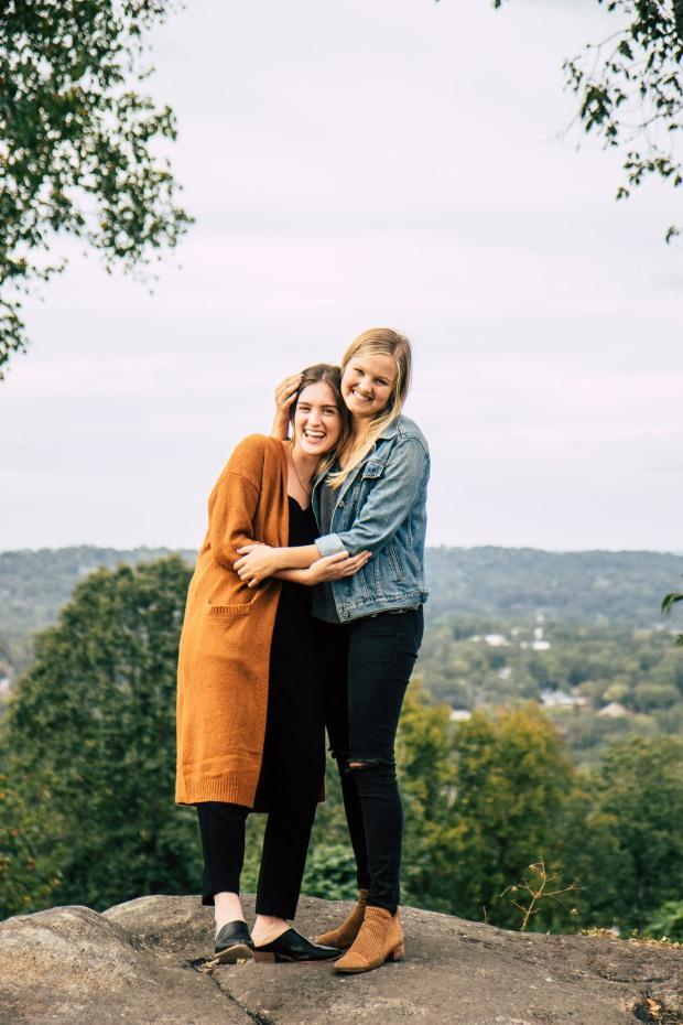 Ashton and Kate Portrait