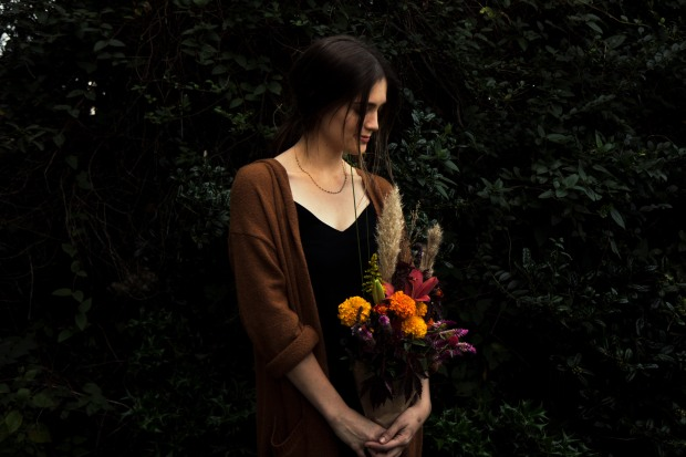 Ashton with Moody Flowers