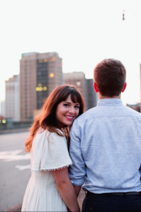Haley and John Engagement Photo